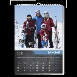 Nástenný kalendár A4 - Rock