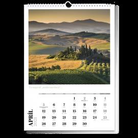 Nástenný kalendár A3 - Artdeco