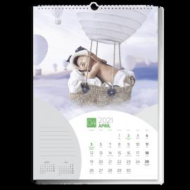 Nástenný kalendár A3 - Balls