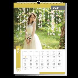 Nástenný kalendár A3 - Cube