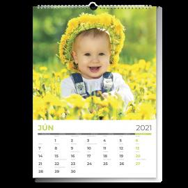 Nástenný kalendár A3 - Flat